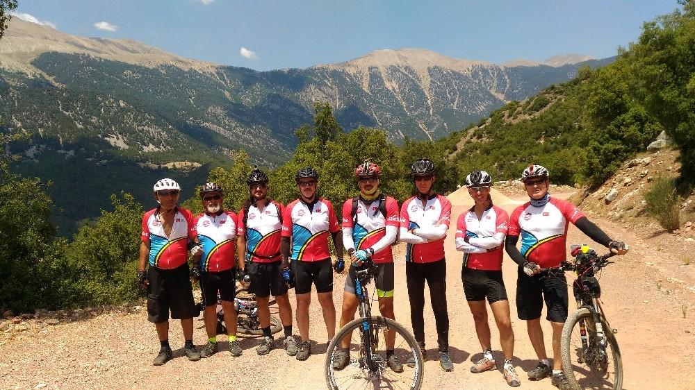 Bisikletçiler Alakır'a Pedalladı