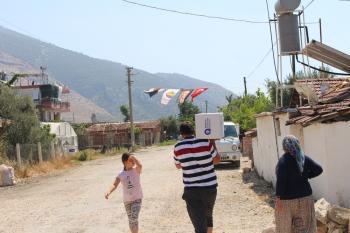 Büyükşehir Belediyesi dar gelirli aileleri sevindirdi