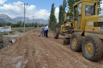 Büyükşehirden Elmalı'da asfalt hazırlığı