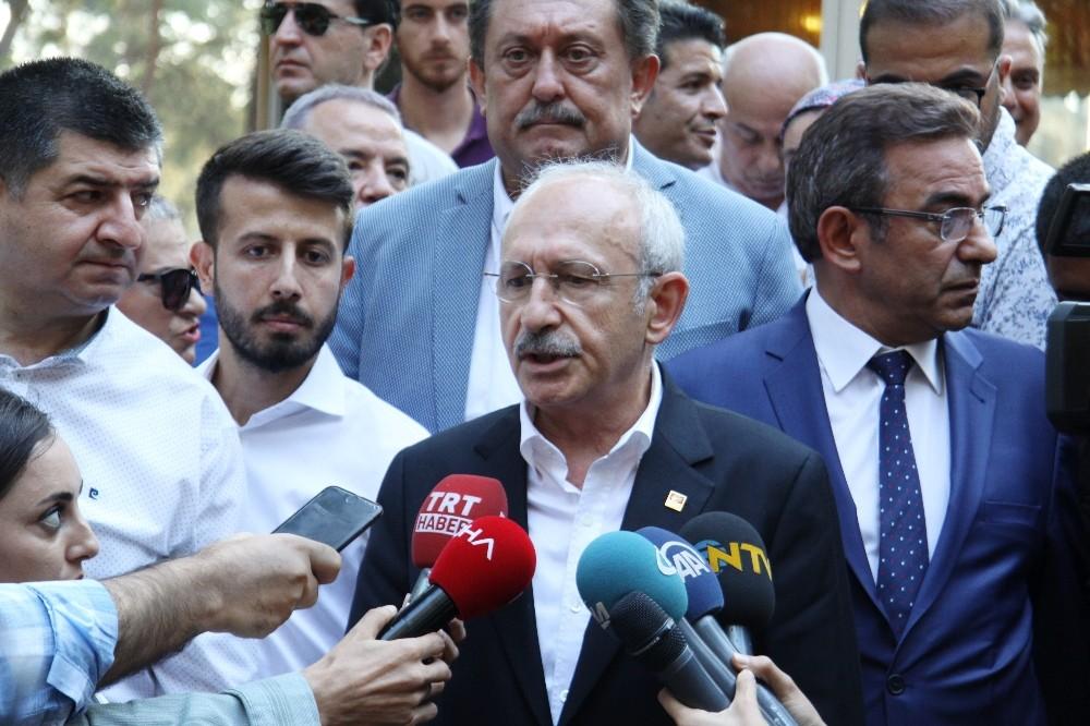 CHP Genel Başkanı Kılıçdaroğlu Antalya'da