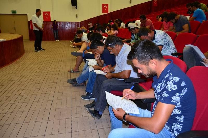 Demre'de İŞKUR personellerine iş sağlığı ve güvenliği eğitimi