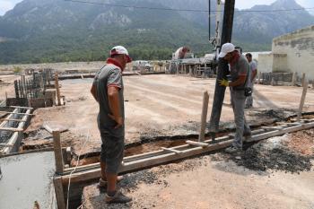 Hacısekiler'de Sosyal Etkinlik Alanı start aldı