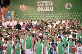 Kepez Yaz Spor Okulları açıldı
