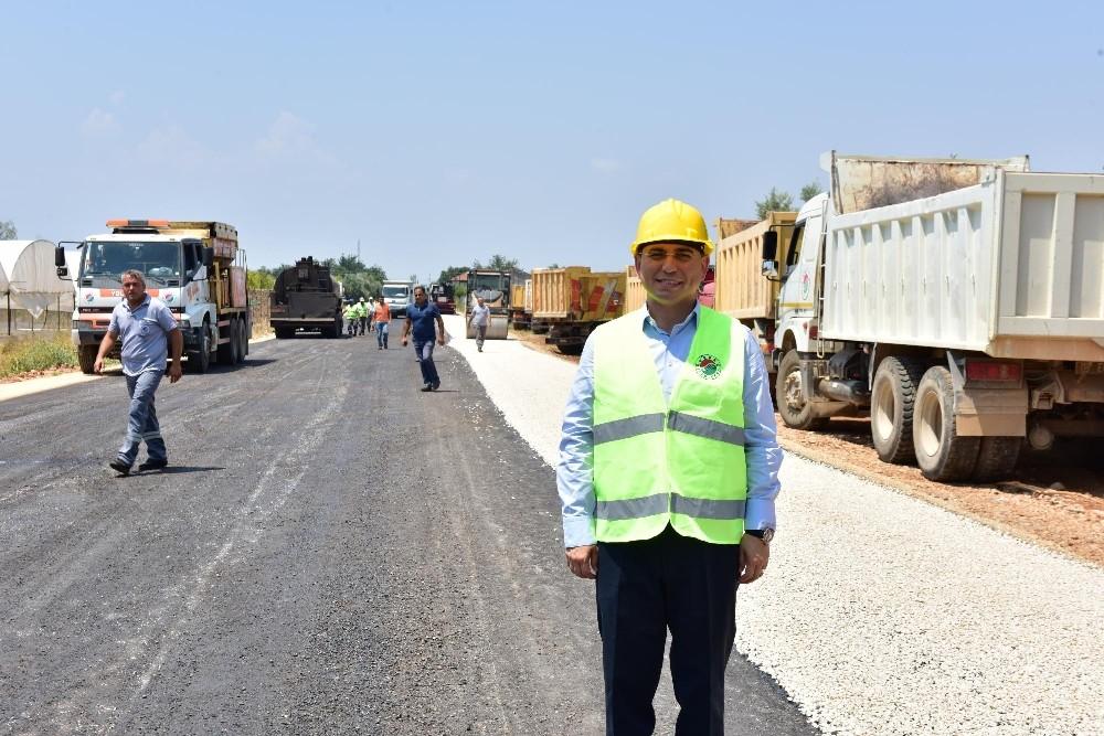 Kepez'de sathi asfalt sezonu törenle açıldı