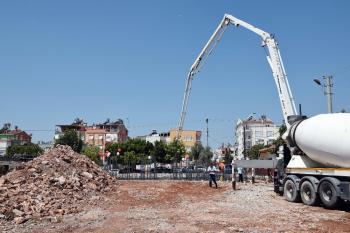 Kepez'de Yeni Cami'nin temelleri atıldı