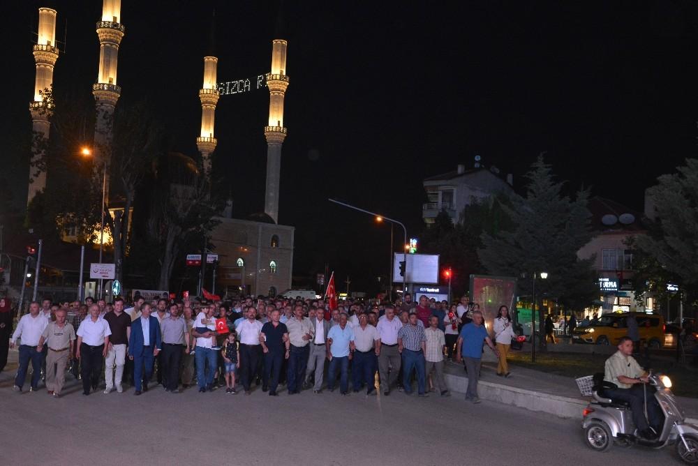 Korkuteli'nde 15 Temmuz Demokrasi ve Milli Birlik Günü