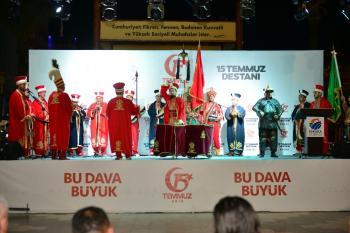Kumluca'da 15 Temmuz Demokrasi ve Milli Birlik Günü