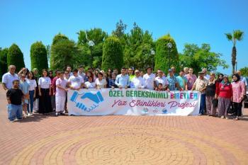 Kumluca'da Özel Bireyler için Özel Etkinlik