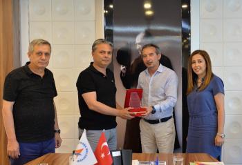 Levent Aydın Anadolu Lisesi'nden Başkan Uysal'a ziyaret