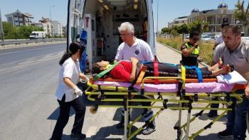 Manavgat 'ta trafik kazası: 4 yaralı