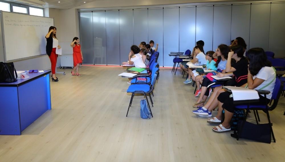 Manavgat'ta yaz kurslarına yoğun ilgi