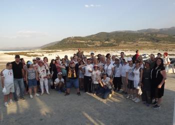 Özel öğrencilerle Isparta ve Burdur turu