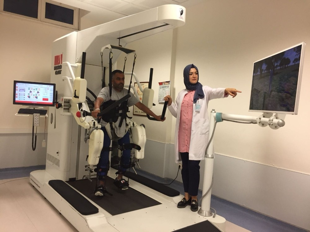Robogait cihazı 498 hastaya umut oldu