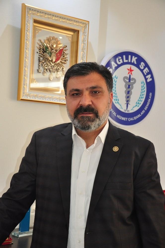 Sağlık Sen Antalya Şube Başkanı Sinan Kuluöztürk, basın emekçilerinin 24 Temmuz Basın Bayramını kutladı.