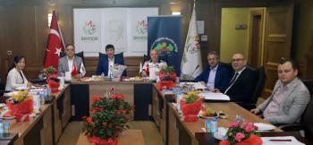 Sağlıklı Kentler Birliği encümeni toplandı