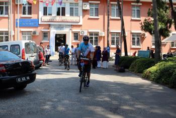 Sultan Alaaddin Keykubat'ta vefa için Alanya'dan Konya'ya pedal çevirecek