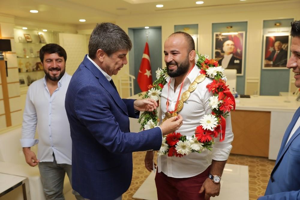 """Türel: """"Antalya güreşin dinamosu"""""""
