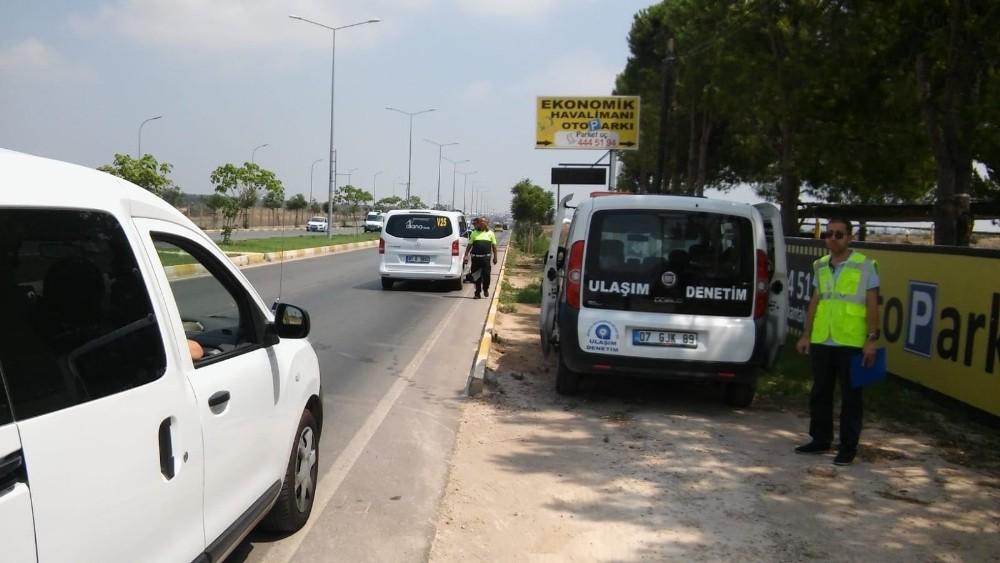 Turizm bölgelerinde korsan taşıma denetimleri arttı