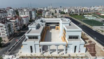 Türkan Şoray Kültür Merkezi açılışa hazır