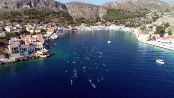 Yunan adasından Türk topraklarına 7.1 kilometrelik kulaç