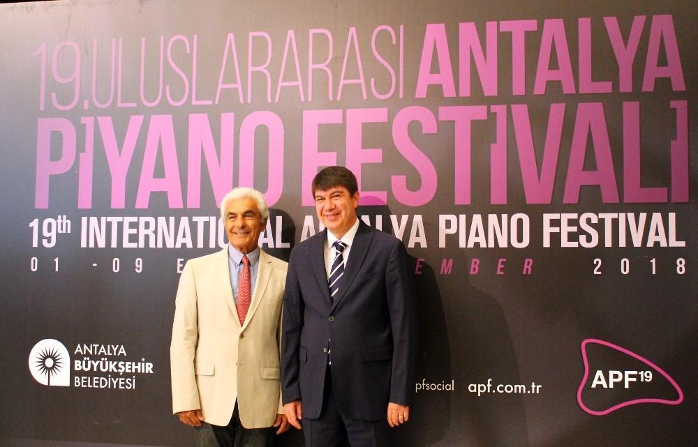19'uncu Uluslararası Antalya Piyano Festivali'ne doğru