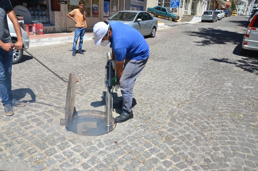 Akseki'de sivrisinekle mücadele çalışmaları devam ediyor