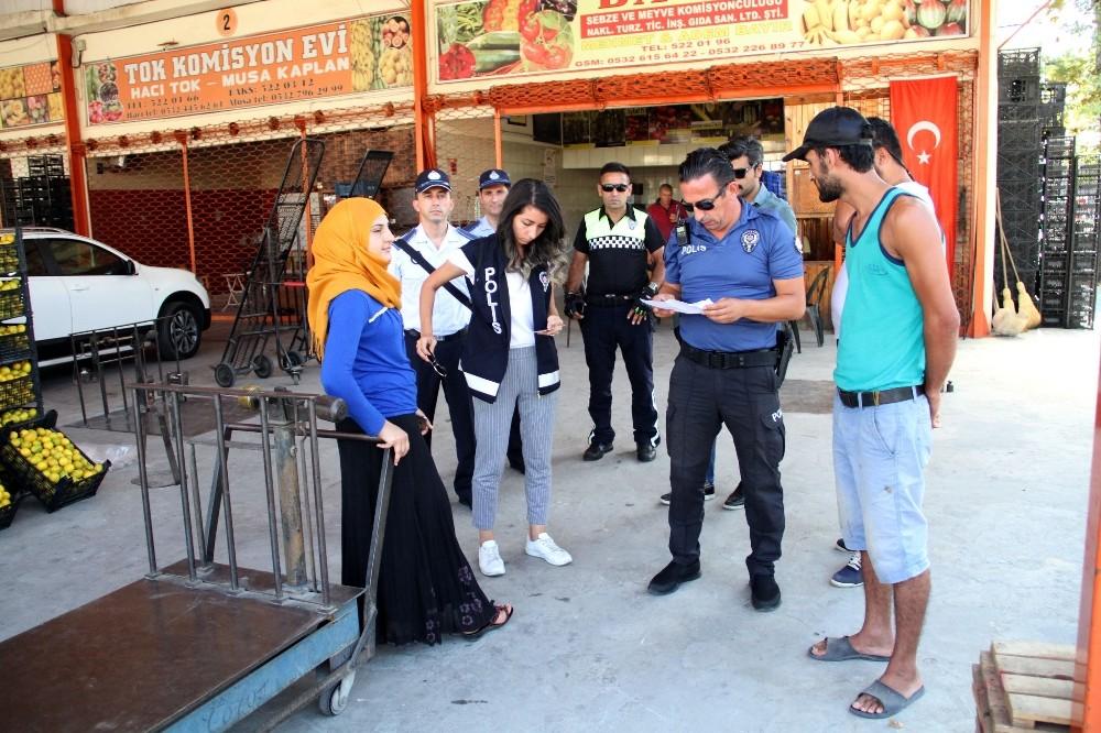 Alanya'da yabancılara yönelik huzur uygulaması