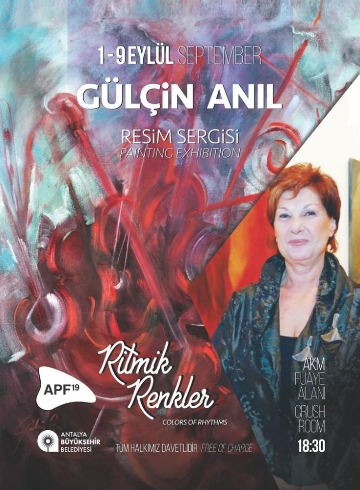 Antalya Piyano Festivali'nde müzik ve resim bir arada