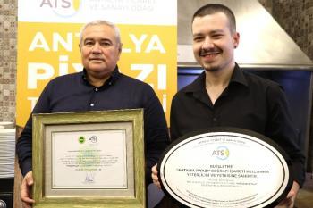 'Antalya piyazı' ATSO öncülüğünde tescillendi