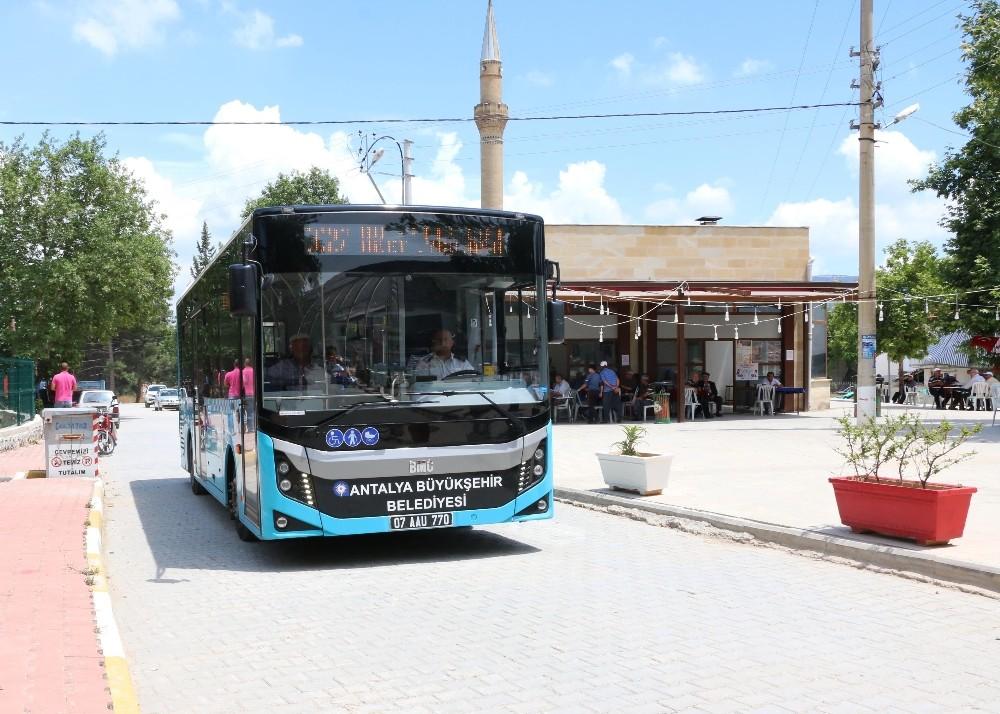 Antalya ulaşımda yeni uygulamalar hayata geçirildi