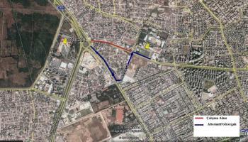 Antalya'da bazı yollar kapatılıyor