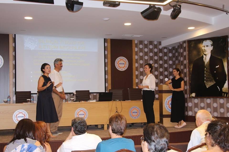 Antalya'da Oda Genel Sekreterlerine eğitim
