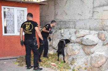 Antalya'da polisten uyuşturucu operasyonu