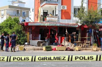 Antalya'da Suriyelilerin işyerinde patlama: 5 yaralı