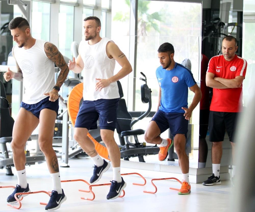 Antalyaspor, Çaykur Rizespor maçının hazırlıklarını sürdürüyor