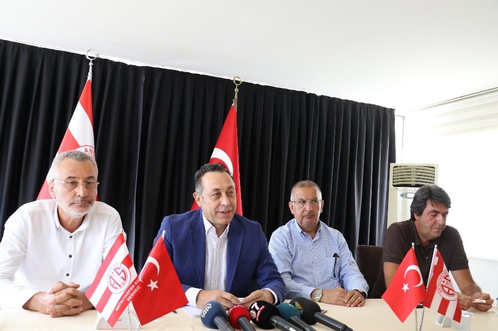 Antalyaspor Kulübü Derneği yeni başkanını Eylül'de belirleyecek