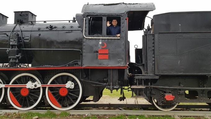 Antalya'ya tarihi lokomotif geliyor