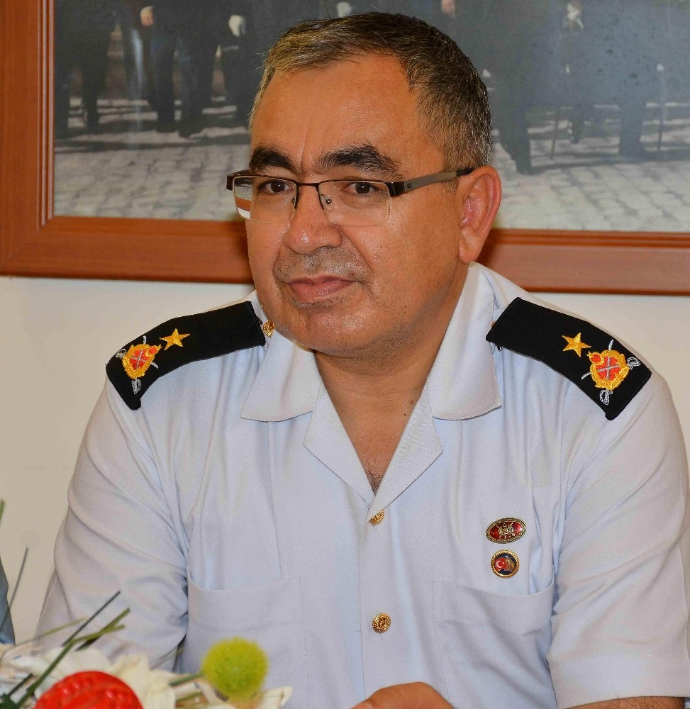 Antalya'ya yeni jandarma komutanı