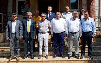 ATSO Yönetiminden Serik ve Manavgat'ta bölgesel işbirliği çalışmaları