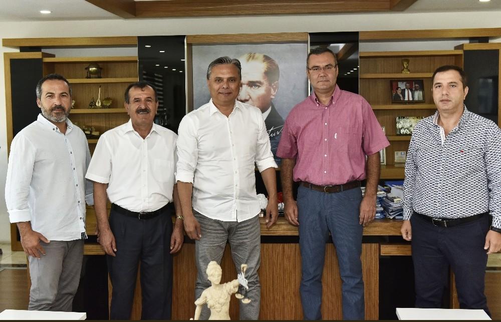Başkan Uysal, AKEV heyetini ağırladı