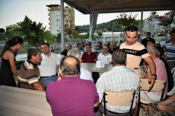 Başkan Yücel, Çıplaklı'da vatandaşlarla buluştu