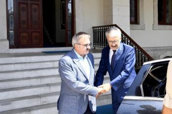 Cumhuriyet Başsavcısı Solmaz'dan Vali Karaloğlu'na veda ziyareti