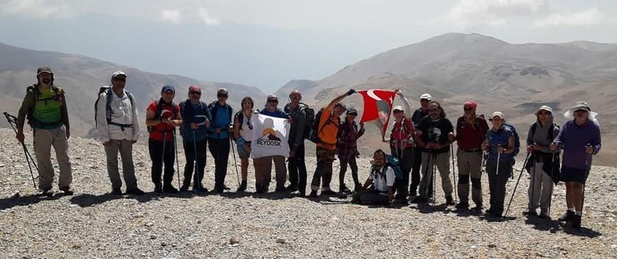 Dağcılar'dan 30 Ağustos Zafer Bayramı tırmanışı