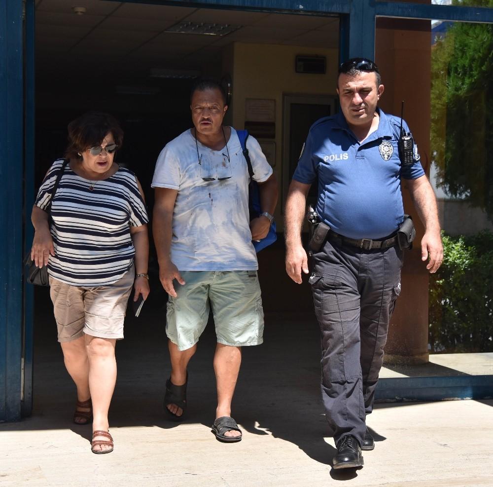 Darp edilen Cezayirli turist çift, taksiciyi affetti
