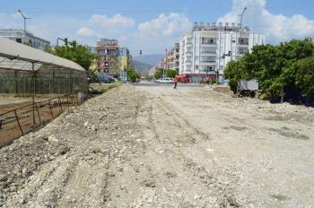 Demre'de Noel Baba Caddesi sahile bağlanıyor