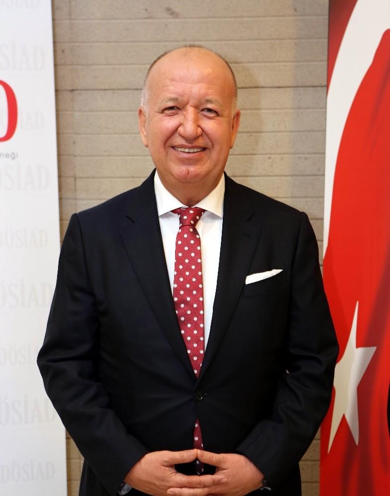 """DÖSİAD Başkanı Gencer: """"Ekonomik sıkıntıları ihracatla aşabiliriz"""""""