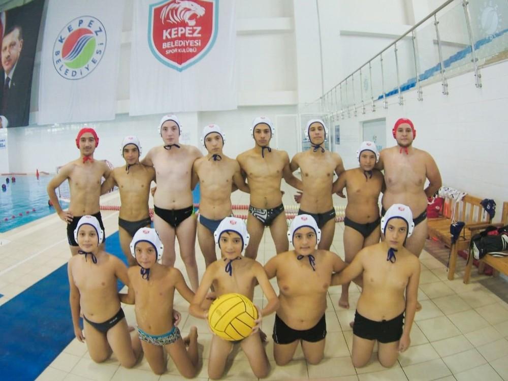 Kepez'in su topu takımı Antalya'yı temsil edecek
