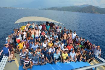 Korkuteli Esnafı'na tekne turu