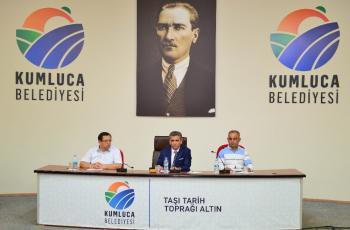 Kumluca Belediye Meclisi Olağanüstü toplandı