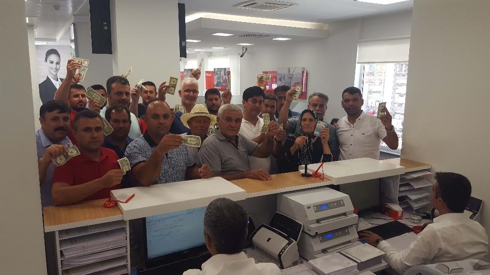 Kumluca'da Cumhurbaşkanı'nın çağrısına destek